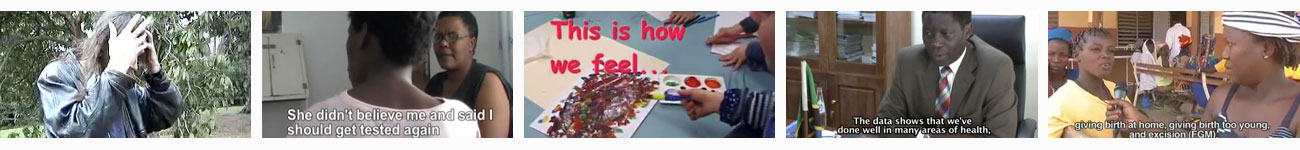 Playlist of Participatory Videos exploring health and wellbeing