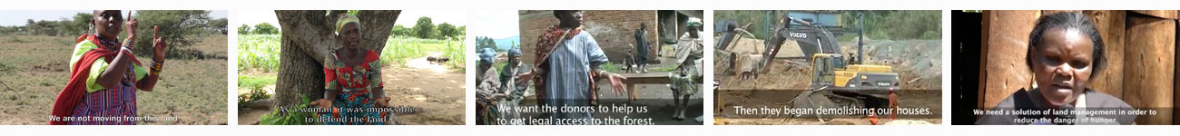 A playlist of Participatory Videos on land rights