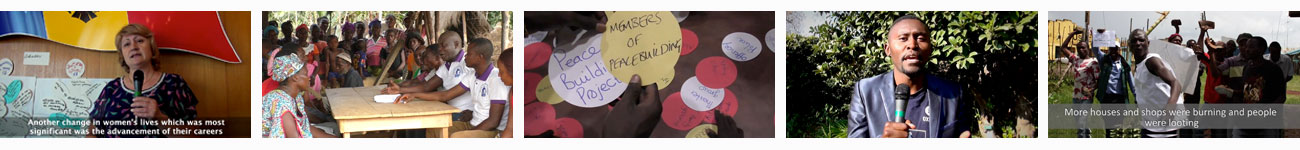 Playlist of Participatory Video for Monitoring and Evaluation projects