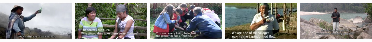 Playlist of Participatory Videos exploring the environment