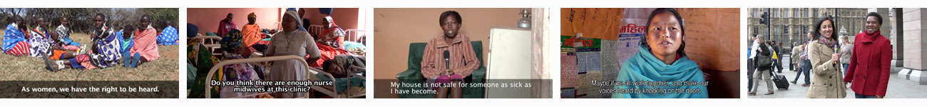Playlist of Participatory Videos on women's rights
