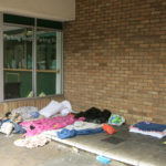 Sleeping bags and possessions recorded during a Participatory Video project on homelessness in Oxford