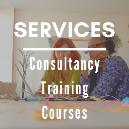 Thumbnail of services: Consultancy, training, courses