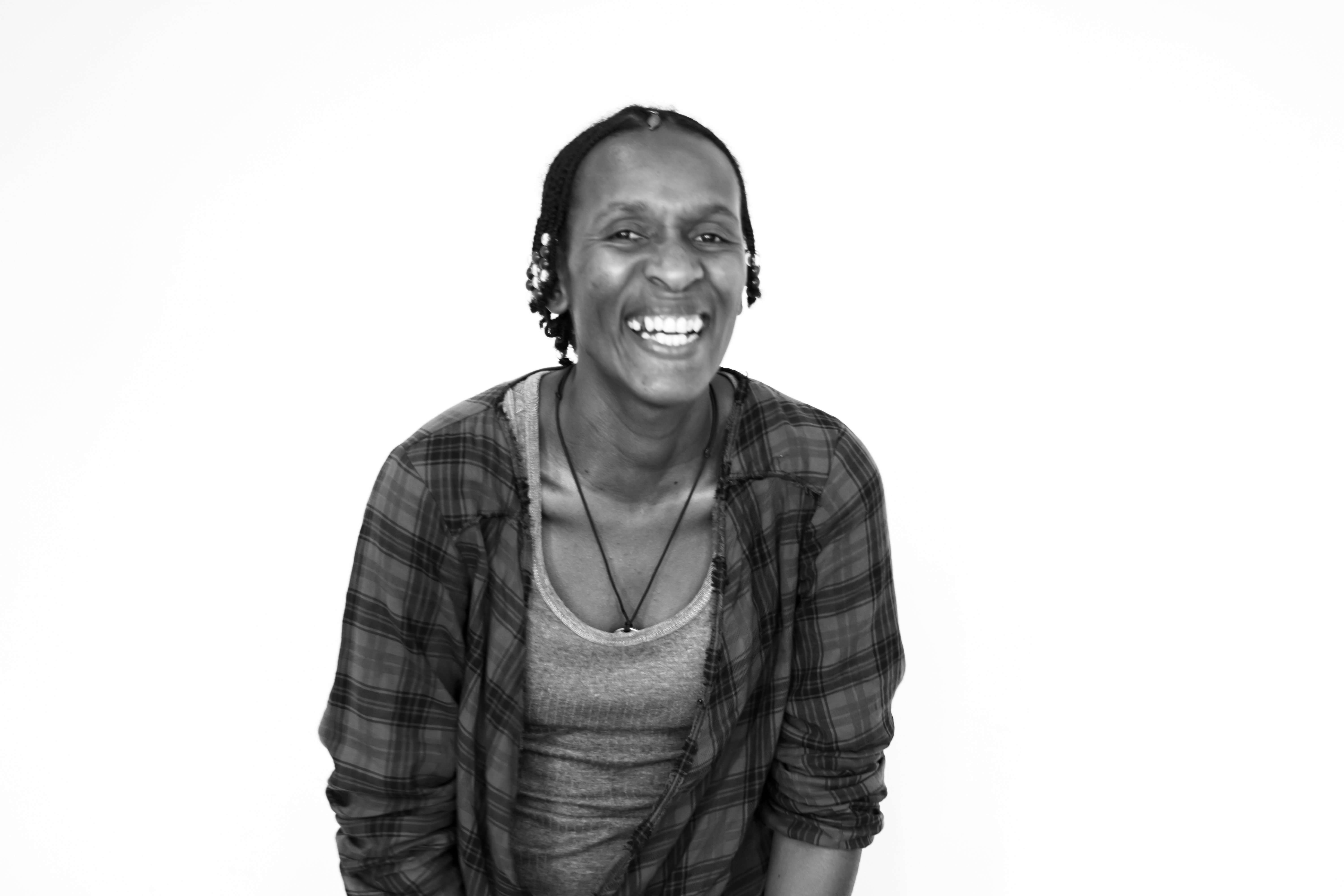Photo of Ayanda, InsightShare associate from South Africa